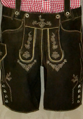 "Lederhosen Shorts ""Ried"" Antique Brown"