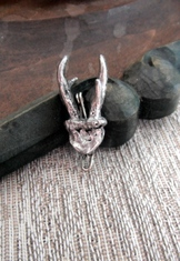 Hat or Lapel Pin - Deer Antlers