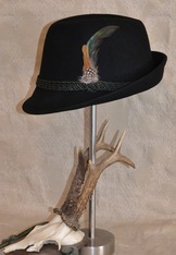 Hat - Fedora Black