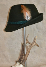 Hat - Fedora Green