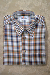 Men's Fine Multi-Check Shirt