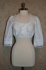 "Dirndl Blouse ""Beate""  NEW LOWER PRICE"