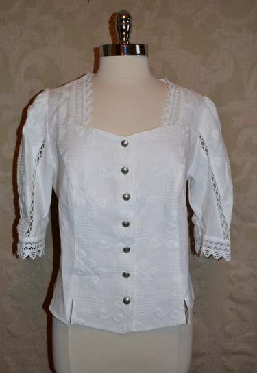 Ladies' Embroidered Blouse Else