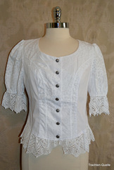 Ladies' Embroidered Blouse Victoria