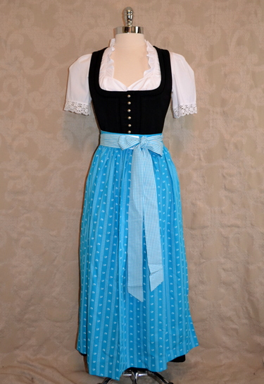 Dirndl Apron Choice of 3 Colours