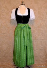 Dirndl Apron Choice of 4 Colours