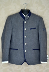 Men's Wool Sportcoat Lorenz Light Charcoal
