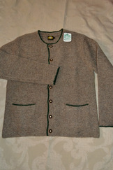 Men's Traditional Wool Cardigan