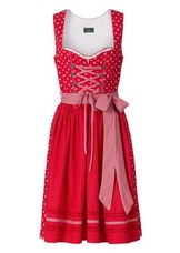 Dirndl Thunersee Red