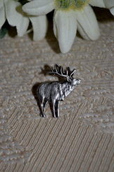 Hat or Lapel Pin Elk