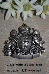 Belt Buckle Large Coat of Arms