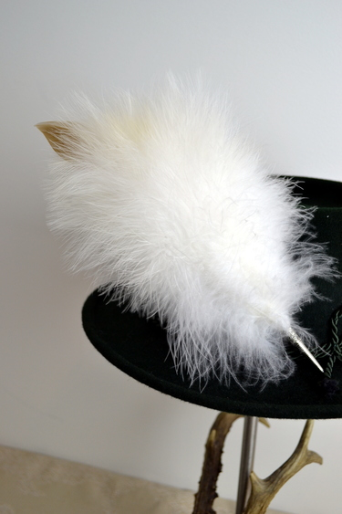 Feather Plume for Miesbacher Trachten Hat
