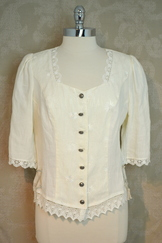 "Ladies' Linen Blouse "" Claudia """