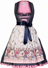 Dirndl Tawia Navy and Pink