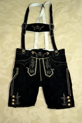 Lederhosen Volker Black also in King Size