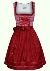 Short Dirndl Morina Red