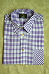 Men's Trachten Shirt Mauve Check