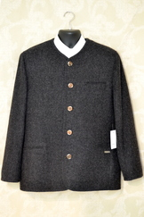 Grey Traditional Loden Jacket