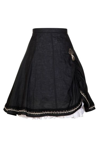 Ladies' Casual Skirt Esther-Marie Black