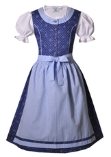 Girls' Dirndl Blue