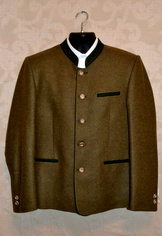 Men's Trachten Jacket Friedl Wool Blend