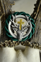Hat or Lapel Pin St. Hubertus Deer