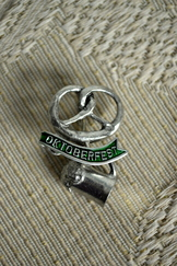 Hat or Lapel Pin Pretzel Oktoberfest