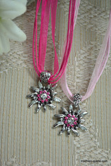 Edelweiss Pendant Assorted Colours