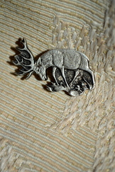 Hat or Lapel Pin Stag
