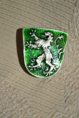 Hat or Lapel Pin Steiermark Crest Green Enamel