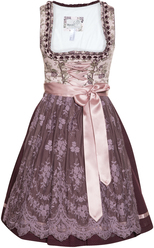 Dirndl Danny Deep Plum and Mauve
