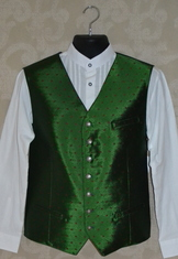 "Men's Vest ""Armin"" Red or Green  WAS $160.00"