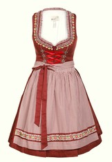 Dirndl Blanda in Red by Marjo