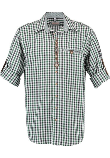 2018_os_shirt_green_black_check_with_sleeves_rolled-001