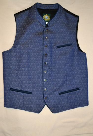 Men's Vest Sigi Blue