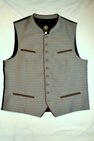 Men's Brocade Vest Rainer