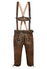 Lederhosen Knickers Antique Brown Calvin
