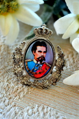 Hat/Lapel Pin King Ludwig II