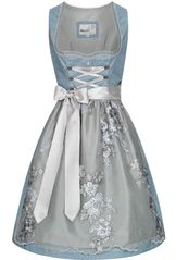 Dirndl Farina Blue and Silver by Marjo