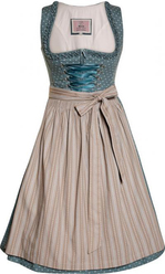 Dirndl Solana Slate Taupe Longer Length