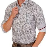 Men's Designer Casual Shirt with Unique Deer Print
