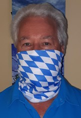 Face Covering, Non-medical Mask,  Bavarian Theme