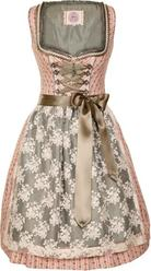 Dirndl Nadira Rose Pink and Green by Marjo