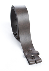 Men's Full Grain Leather Belt Black or Dark Brown