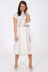 Bridal Dirndl Minchen with 2 Aprons by Kruger