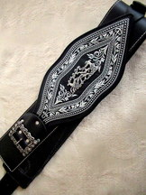 "Traditional ""Ranzengurtel"" Belt for Lederhosen"