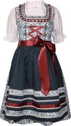 Girls' Dirndl Natalia by Marjo Light Blue with Blouse