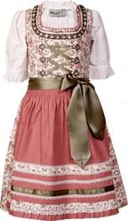 Girls' Dirndl Natalia by Marjo Rose Pink