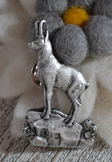 Hat or Lapel Pin - Gams (Goat)