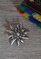 Hat or Lapel Pin - Edelweiss